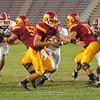 Sacramento City College vs Sierra College at Hughes Stadium, Sacramento, CA, September 16, 2011 -- Photo by Robert McClintock (c) 2011 by Robert McClintock