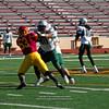 Sacramento City College football vs Laney College, Hughes Stadium, Sacramento, CA, November 10, 2012-- Photo by Robert McClintock (c) 2012 by Robert McClintock