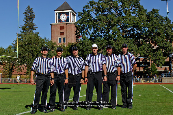 Santa Rosa Junior College: Officials -- 09/15/12