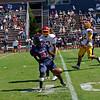 Sacramento City College AT Santa Rosa Junior College, Bailey Field-- Santa Rosa, CA, September 15, 2012-- Photo by Robert McClintock (c) 2012 by Robert McClintock