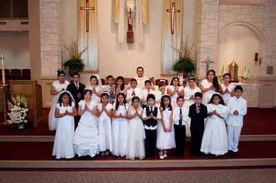 First Communion 28 May @ 10AM (Spanish)