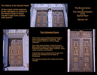 The Beautful Bronze Doors of the Cathedral of the Sacred Heart