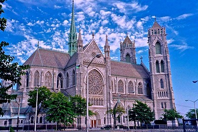 Sacred Heart Cathedral in Newark, NJ