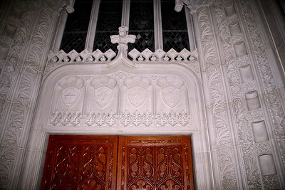 The Carvings on the Narthex Screen in Sacred Heart Cathedral