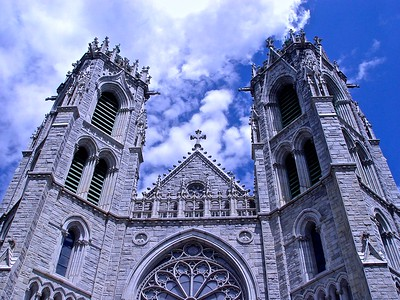 The Great Towers of Sacred Heart Cathedral