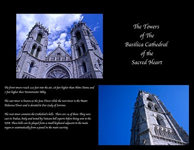 The Twin Towres of the Basilica Cathedral of the Sacred Heart