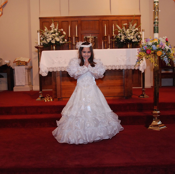 Sacred Heart Catholic Church First Holy Communion