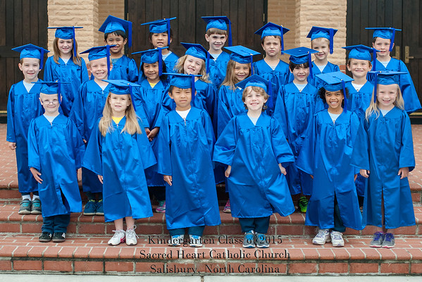 Kindergarten Graduation Day SHCS 060515