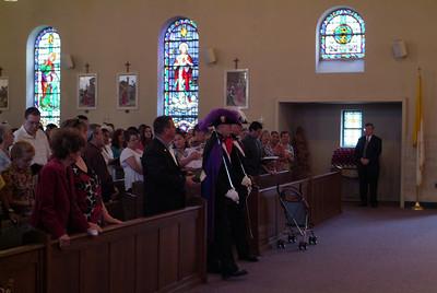 Fr Ben's First Mass