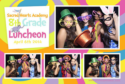 Sacred Hearts Academy 8th Grade Banquet (Stand Up Photo Booth)