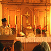 Canon Moreau gives his homily.JPG Mission San Rafael on the Feast of St. Rafael the Archangel Oct. 24, 2009. Mass offered by Fr. Jean Marie Moreau, Christ the King Sovereign Priest.