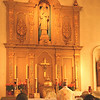 Mission San Rafael on the Feast of St. Rafael the Archangel Oct. 24, 2009. Mass offered by Fr. Jean Marie Moreau, Christ the King Sovereign Priest.