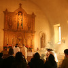 Mission San Rafael of the Feast of St. Rafael the Archangel Oct. 24, 2009. Mass offered by Fr. Jean Marie Moreau, Christ the King Sovereign Priest.
