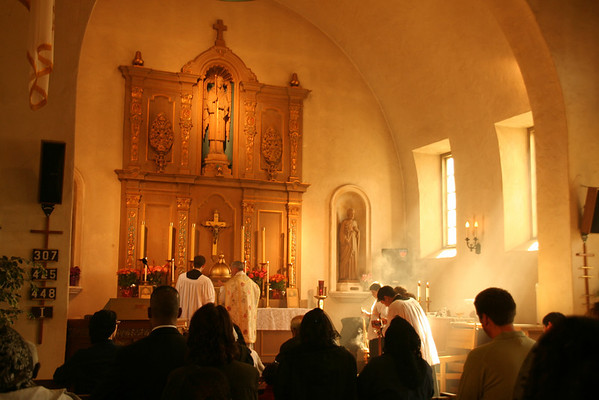 California Mission Mass Sung at Mission San Rafael