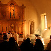 My favorite photo from the Mass.<br /> <br /> Mission San Rafael on the Feast of St. Rafael the Archangel Oct. 24, 2009. Mass offered by Fr. Jean Marie Moreau, Christ the King Sovereign Priest.
