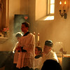 Dominic Szeitz, Abbe Eric, Father Moreau<br /> <br /> Mission San Rafael on the Feast of St. Rafael the Archangel Oct. 24, 2009. Mass offered by Fr. Jean Marie Moreau, Christ the King Sovereign Priest.