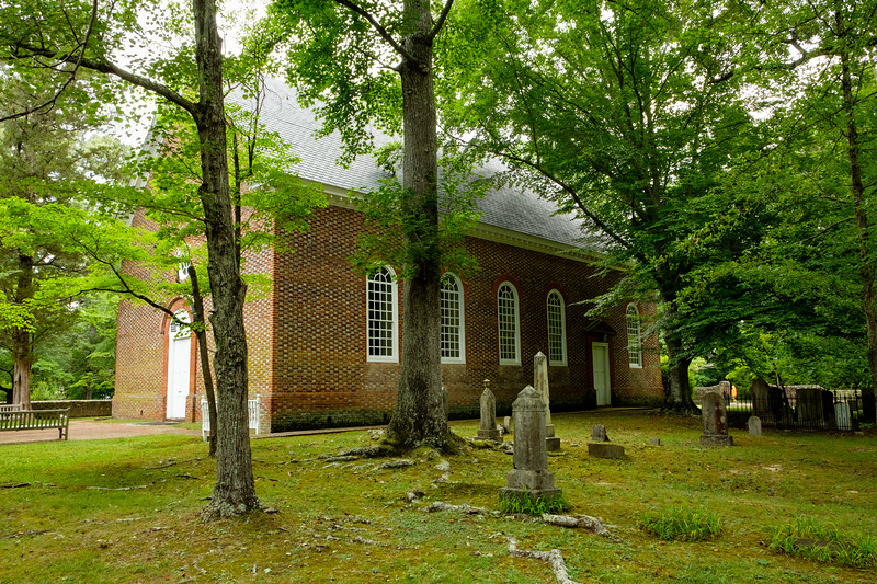 Ware Parish Church, John Clayton Memorial Highway, Gloucester Courthouse, Virginia