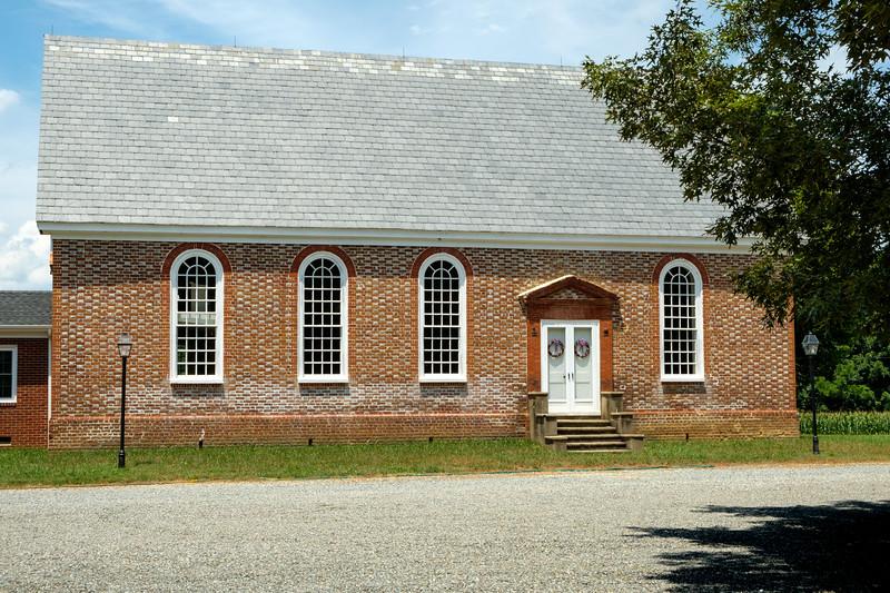 Old Church United Methodist Church, 25614 The Trail, Mattaponi, Virginia