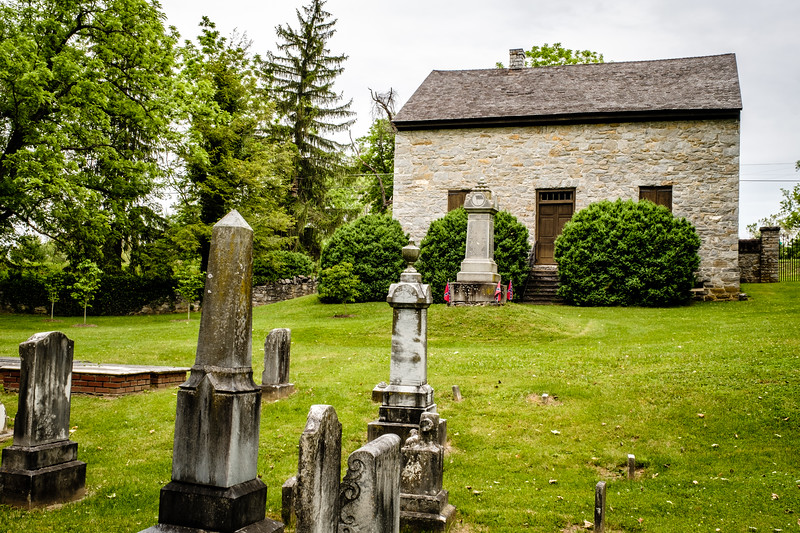 The Old Chapel & Burwell Cemetery, Millwood, Virginia
