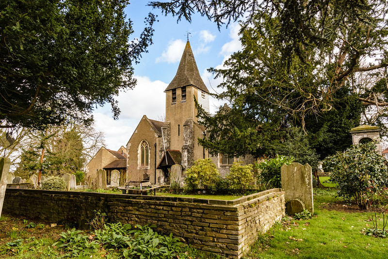 St Michael and All Angels Church, Church Hill, Wilmington, Kent, England