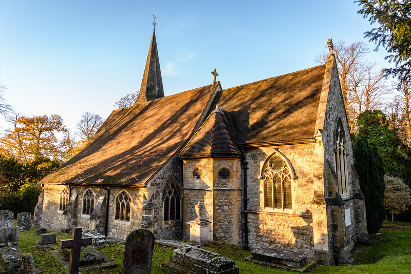 St James Church, North Cray, Foots Cray Meadows, Bexley, Kent