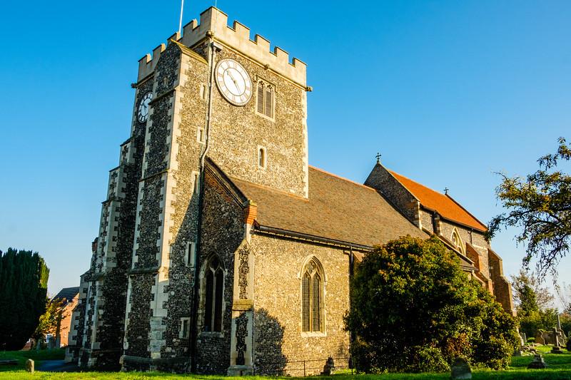 St Mary the Virgin Church, Church Road, Stone, Kent