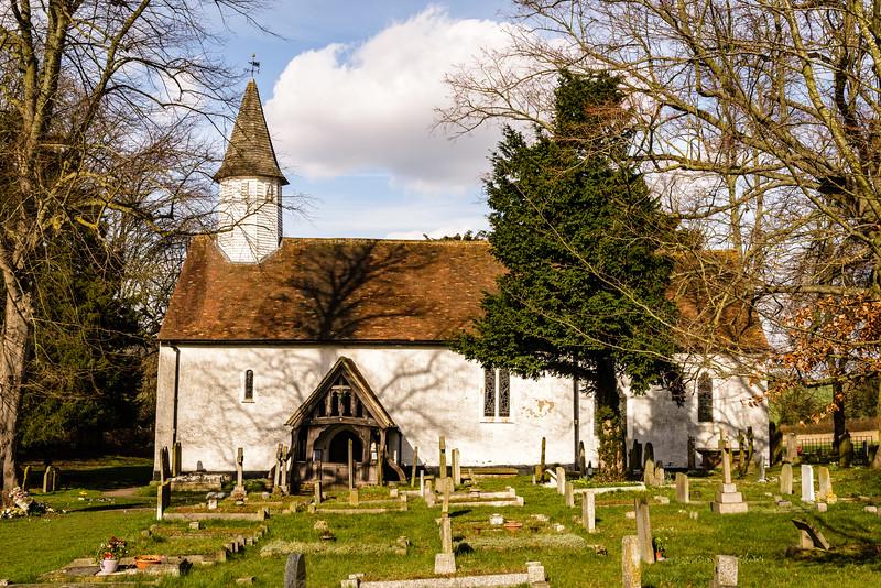 St Marys Church, Fawkham Valley Road, Fawkham, Kent, England
