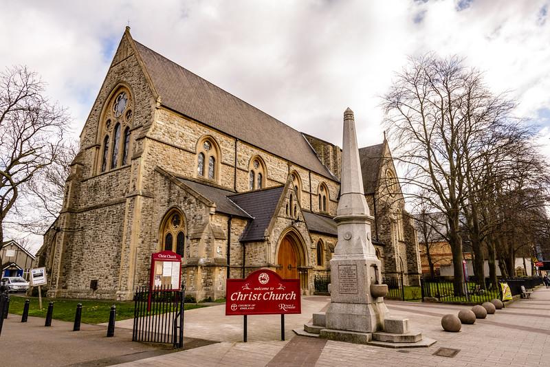 Christ Church, The Broadway, Bexleyheath, London, England