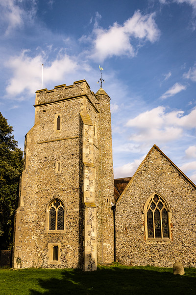 St John The Baptist Church, Church Road, Sutton at Hone, Kent, England