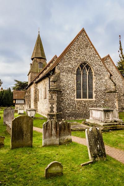 Parish Church of St. Mary The Virgin, Manor Road, Bexley, Kent