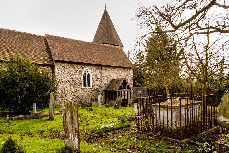 St Margaret of Antioch Church, Darenth Hill, Darenth, Kent, England