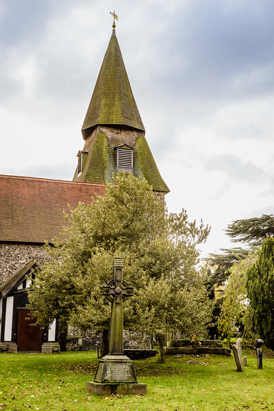 Parish Church of St. Mary The Virgin, Manor Road, Bexley, Kent