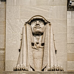 Sphinx Statue Power, House of the Temple, Scottish Rite of Freemasonry, 1733 16th Street NW, Washington, DC