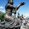 The Offering of the Six Devas, Tian Tan Buddha, Po Lin Monastery, Lantau Island, Hong Kong