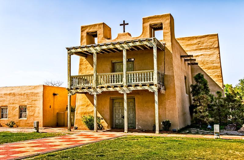 The Misión Museum y Convento, Plaza de Española, Española, New Mexico