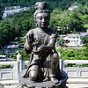 One of the Offering of the Six Devas, Tian Tan Buddha, Po Lin Monastery, Lantau Island, Hong Kong