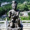 One of the Offering of the Six Devas, Tian Tan Buddha, Po Lin Monastery, Lantau Island, Hong Kong