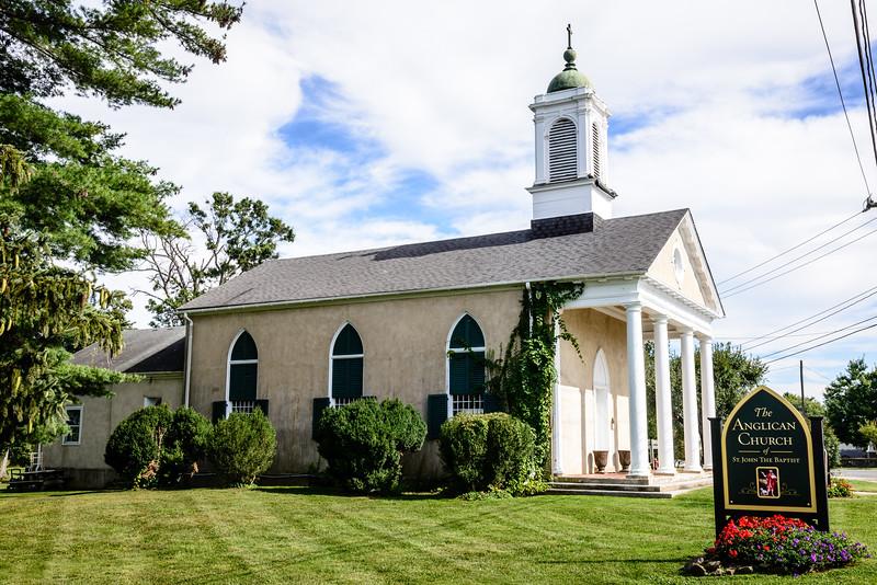 Anglican Church of St. John The Baptist, Winchester Road, Marshall, Virginia