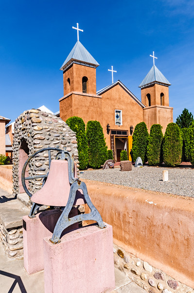 Holy Cross, Santa Cruz de la Canada Church, Santa Cruz, New Mexico