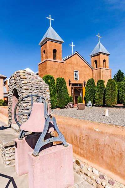 Holy Cross, Santa Cruz de la Canada Church, Santa Cruz, New Mexico