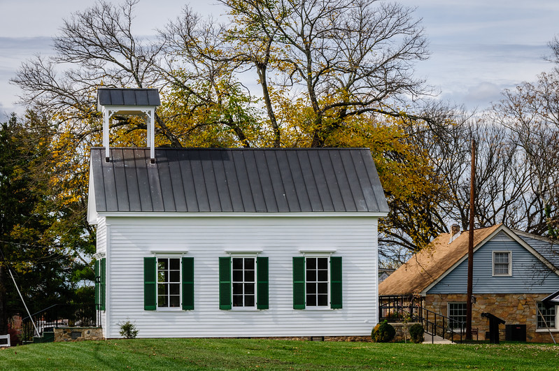 Brentsville Union Church, Brentsville Courthouse Historic Center, Bristow, Virginia