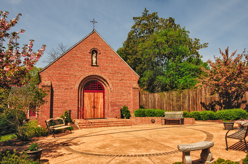 Chapel, Mount Carmel Monastery, Mount Carmel Drive, La Plata, Maryland