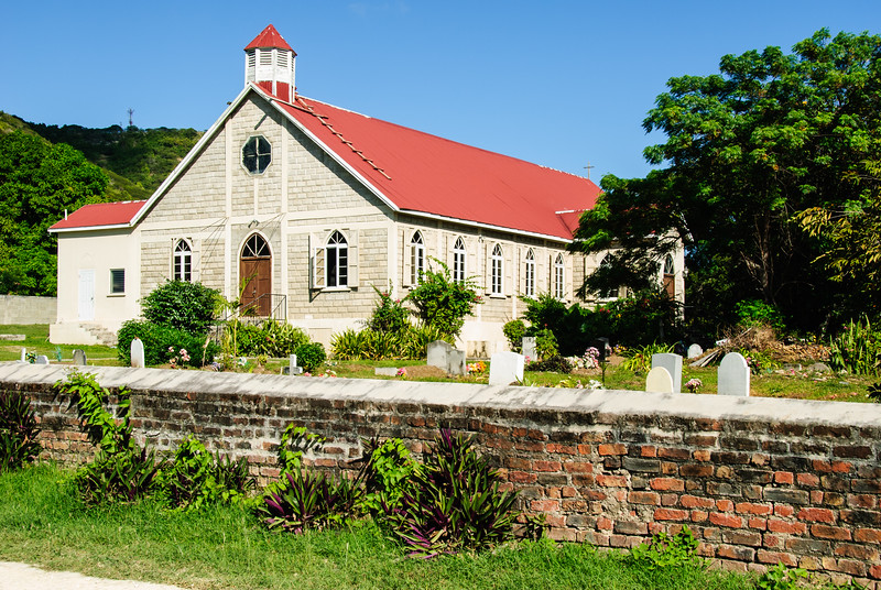 St. Paul's Anglican Church, Falmouth, Antigua