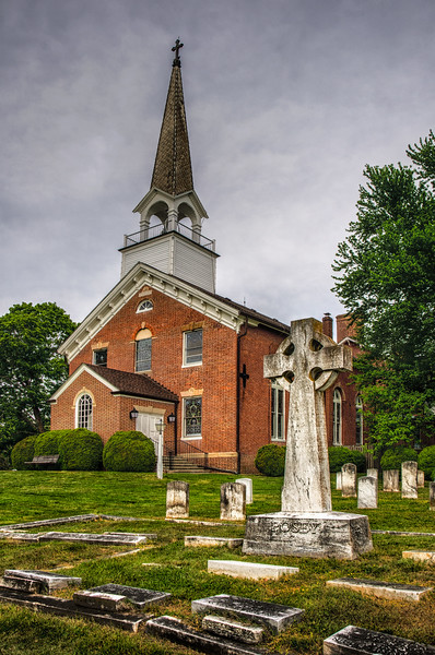 St. Ignatius Church, 8855 Chapel Point Road, Port Tobacco, Charles County, Maryland