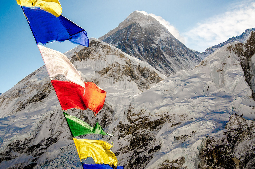 """Chomolungma"" (Mother Goddess of the World, in Tibetan)"
