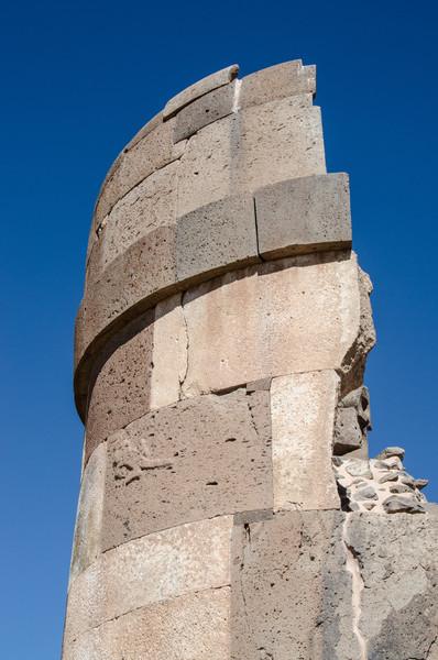 Sillustani tower