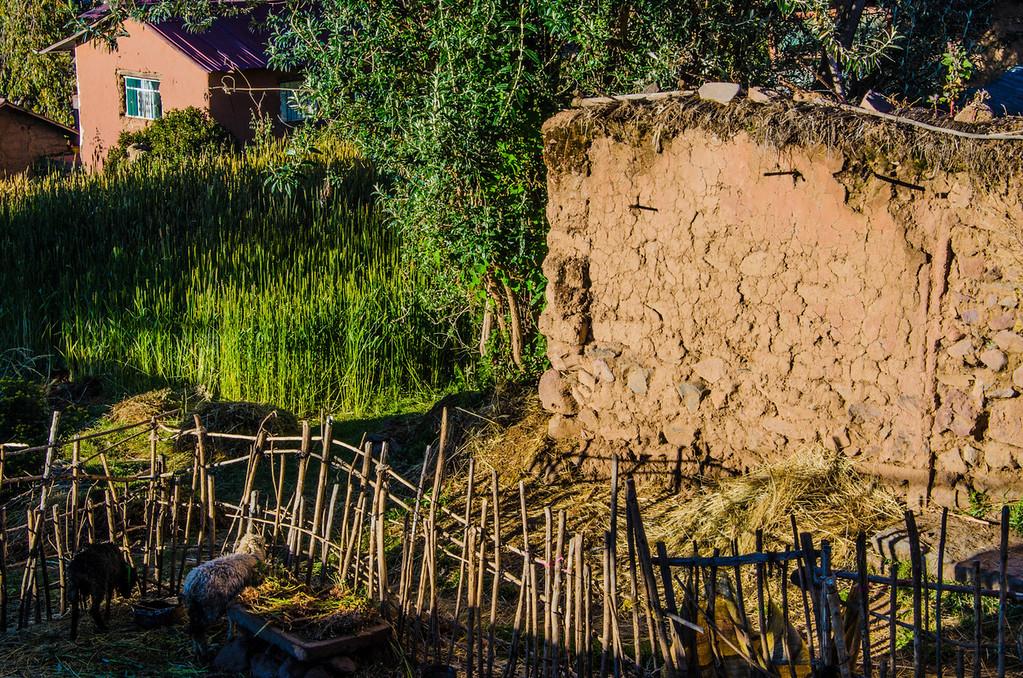 rural life on Amantani Island