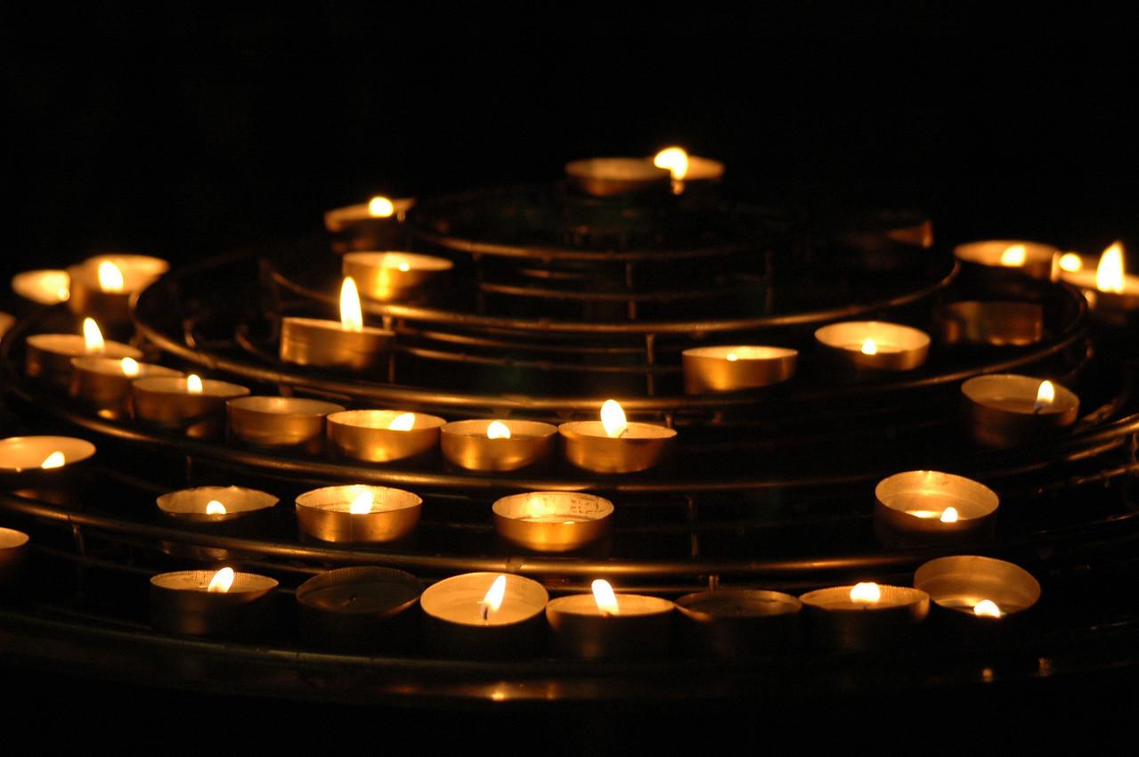 Candles of Notre Dame de Paris