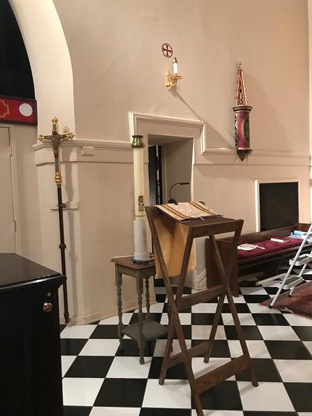 Working Paschal Candle stand, Exsultet legillium