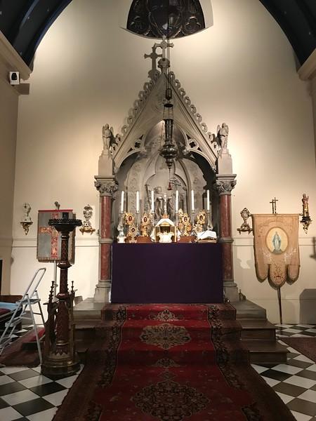 High Altar before Easter Vigil